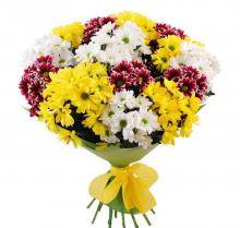 Beautiful bouquet  White Chrysanthemums