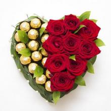 Roses and Ferrero delight