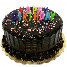 1 Kg Dark Chocolate cake FREE Candle